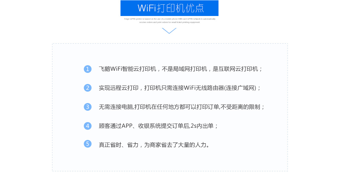 WiFi打印机好处