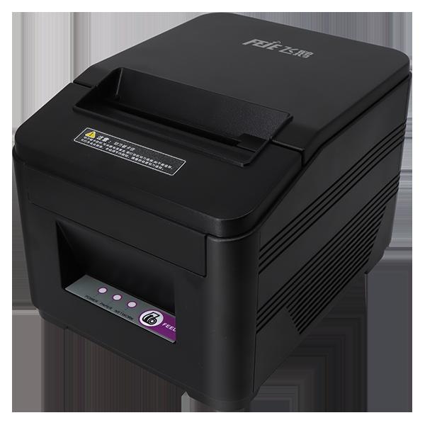 4G全网通外卖自动接单打印机侧面