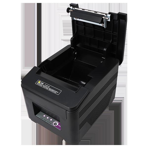 4G飞鹅外卖接单打印机侧面